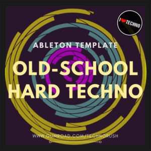 old school hardtechno template
