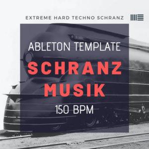 extreme techno ableton template